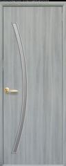 Дверь  Модерн ясень патина Дива (со стеклом сатин) Экошпон Новый стиль