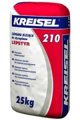 Клей для пенополистирола Kreisel Styropor Klebemortel 210   25 кг