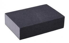 Губка для шлифования 100 мелкая 100*75*25мм Spitce 18-900