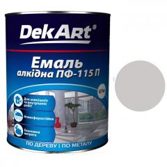Эмаль ПФ-115 DekArt Светло-серая  0,9 кг