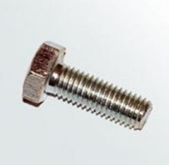 Болт метрический с полной резьбой с шестигранной головкой М05х20 мм  [ключ8]