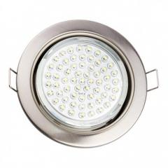 Cветильник светодиодный LED круг 15W 5000К Global (176*176*52mm)