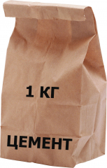 Цемент   М-400  1 кг