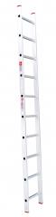 Лестница приставная 10ст 2,84м, до 150кг алюминиевая  Intertool LT-0110