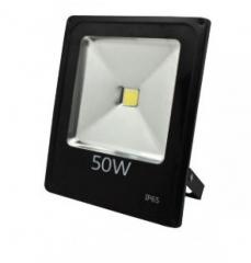 Прожектор 50W светодиодный 6500K IP65 LEMANSO чёрный LMP2-50