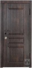 Дверь входная Форт Нокс серия Престиж модель DQ-50 тик темный