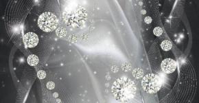 фотообои 3D Бриллиантовые шары 19324