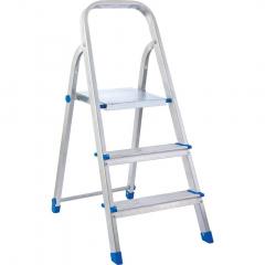 Лестница стремянка 3ст 0,60м, до 120кг металлическая, квадратный профиль  Elits
