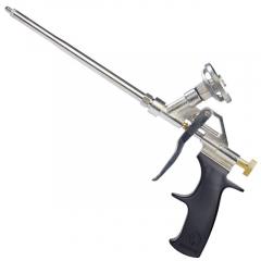 Пистолет для пены пластиковая ручка, разборный металлический корпус Intertool PT-0603
