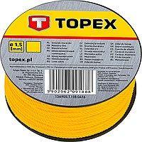 Шнур отбивочный (малярный) 100м катушка Topex 13A910