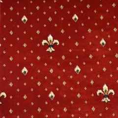 Ковролин Balta (Бельгия) серия Empire Wellington Тканный 4957/10 Красный (1м2) ширина (4м)