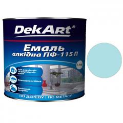 Эмаль ПФ-115 DekArt Светло-голубая  2,8 кг