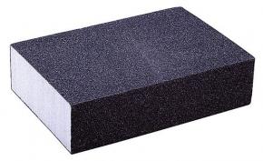 Губка для шлифования  60 средняя 100*75*25мм Spitce 18-901
