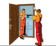 Как самостоятельно установить входные двери