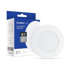 Светильник светодиодный  встраиваемый   6Вт  220В 3000K Global 1-SPN-003-C (гарантия два года)