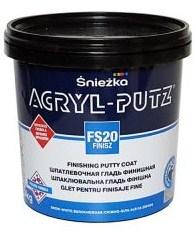 Шпатлевка готовая акриловая финишная Sniezka Akryl-Putz Finish  0,5 кг