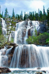 фотообои Аляска, водопад 8285