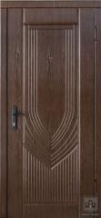 Дверь входная Форт Нокс серия Комфорт модель орех мореный турин