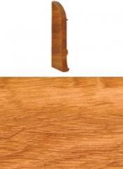 Заглушка для плинтуса с кабельканалом левая (вяз)