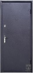 Дверь входная Форт Нокс серия Классик Антик серебро