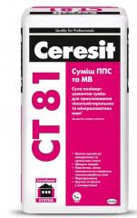 Клей для пенополистирола Ceresit CT81/25 ППС/МВ 25 кг