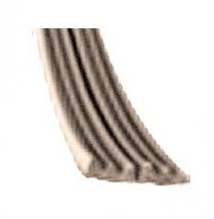 Уплотнитель E 2-й коричневый 9х4мм (к)