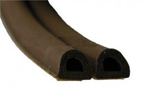 Уплотнитель D 2-й коричневый 9х7,5 (к)