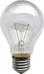 Лампа накаливания прозрачная в гофрокартоне  75Вт 220В Е27