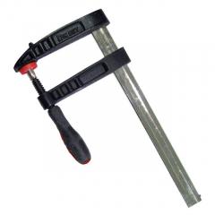 Струбцина столярная F-образная  250* 50мм прорезиненная рукоятка Intertool HT-6002