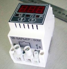 Автоматическое реле напряжения 60А Барьер цифровое