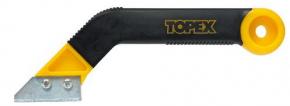 Скребок для очистки швов 50мм 2 лезвия Topex 16B471
