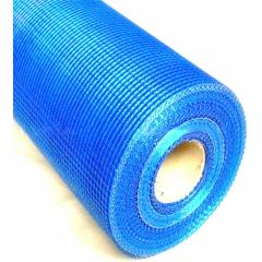 Сетка штукатурная фасадная синяя 5х5 145 г,м2 , 1 м (рулон 46м) Anserglob
