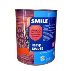 Лазурь алкидная Smile SWL15 глянц орех 0.7кг