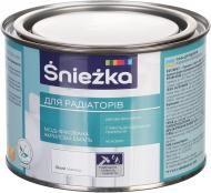 Эмаль для радиаторов акриловая Sniezka Белая  0,4 л