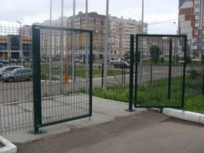 Ворота Заграда (высота 2.4м ширина 4.0м)
