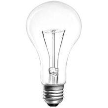 Лампа накаливания прозрачная в гофрокартоне 300Вт 220В Е27