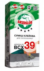 Клей для пенополистирола Anserglob ВСХ-39 25 кг