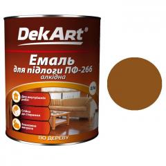 Эмаль для пола ПФ-266 DekArt Желто-коричневая  0,9 кг