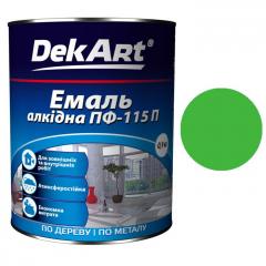 Эмаль ПФ-115 DekArt Светло-зеленая  0,9 кг
