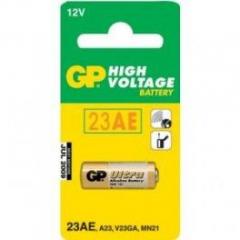 Батарейка в звонок GP Alkaline щелочная MN21  A23 12V 23AU-U5, 1шт