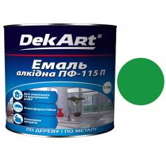 Эмаль ПФ-115 DekArt Зеленая  2,8 кг