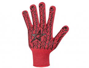Перчатки Doloni  4040 красные