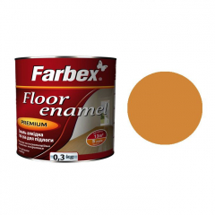 Эмаль для пола ПФ-266 Farbex Золотисто-коричневая  0,3 кг