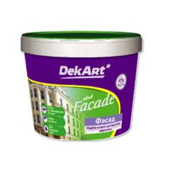 Краска водно-дисперсионная фасадная DekART Facade  3 л 4 кг