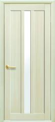 Дверь  Мода дуб жемчужный Марти (со стеклом сатин) Экошпон Новый стиль