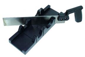 Стусло лоток 300*65мм пластиковое с пилой (45, 90, 135?) Technics 41-460