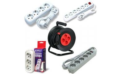 Удлинители электрические, колодки