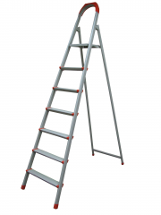 Лестница стремянка 3ст (2+1) 0,66м, до 150кг металлическая, плоскоовал. проф. зеленая Украина 70-133