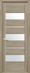 Дверь  Мода сандал Лилу (со стеклом сатин) Экошпон Новый стиль