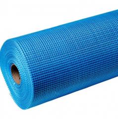 Сетка штукатурная фасадная синяя/зелена 5х5 145 г/м2 , 1 м Extra